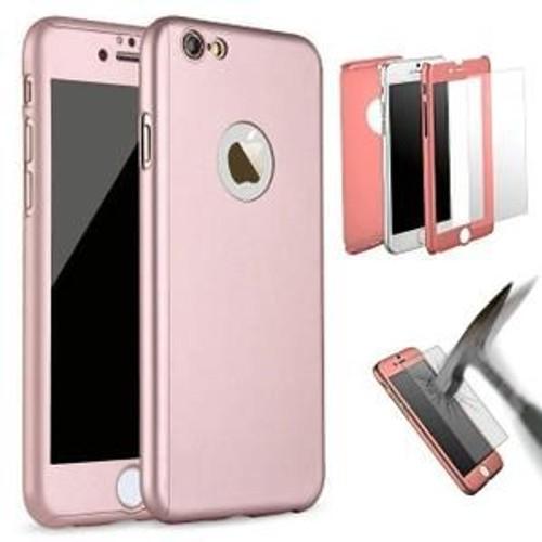 coque iphone 7 anti choc rose