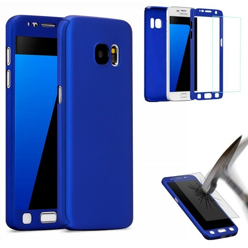 coque samsung galaxy s6 edge bleu