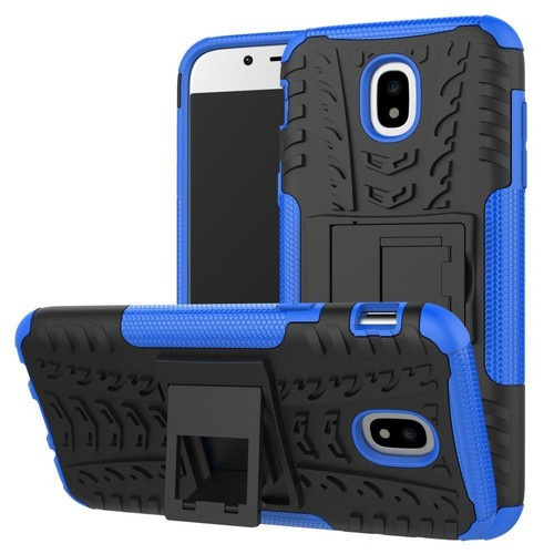 etui housse coque anti choc pour samsung galaxy j3 2017 bleu. Black Bedroom Furniture Sets. Home Design Ideas