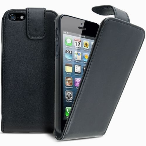 Etui iphone 5 5s housse coque pochette en simili cuir for Etui housse iphone 5