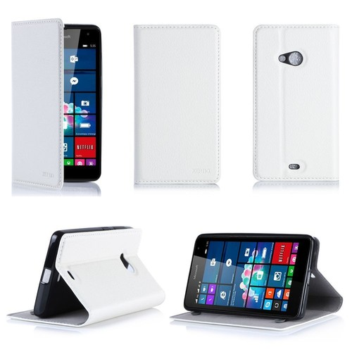 Etui Luxe Microsoft Lumia 535 (Ex Nokia) Dual Sim Blanc ...