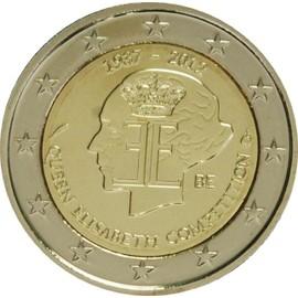 euro pi ce 2 euros comm morative 2012 belgique 75 me anniversaire du concours musical. Black Bedroom Furniture Sets. Home Design Ideas