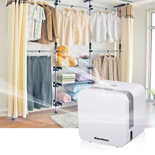 Excelvan 650ml d shumidificateur semi conductor mini air - Deshumidificateur silencieux pour chambre ...
