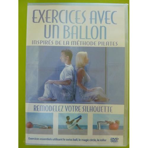 exercices avec un ballon inspir s de la methode pilates dvd zone 2. Black Bedroom Furniture Sets. Home Design Ideas