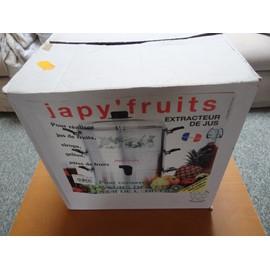 Achetez extracteur de jus japy c197pf fruits aluminium au meilleur prix sur rakuten d couvrez - Extracteur de jus pour confiture ...