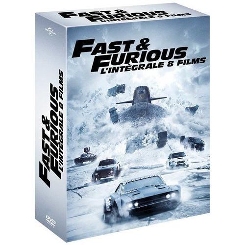 fast and furious l 39 int grale 8 films dvd copie digitale de rob cohen achat et vente dvd. Black Bedroom Furniture Sets. Home Design Ideas