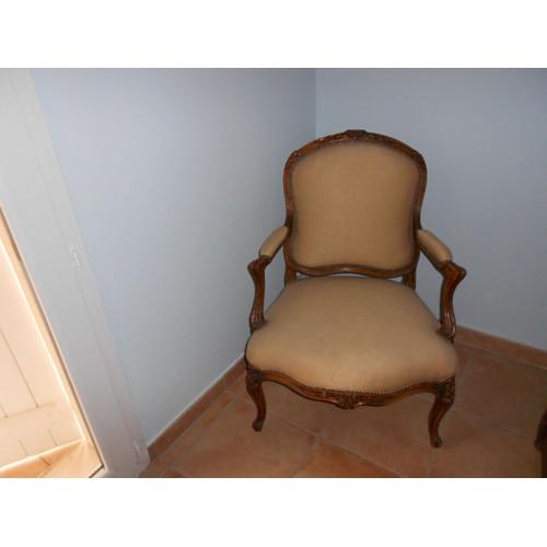 fauteuil ancien de style louis xv achat et vente priceminister rakuten. Black Bedroom Furniture Sets. Home Design Ideas