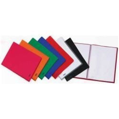 favorit porte vues 100 pochettes 220 x 300 mm rouge rakuten. Black Bedroom Furniture Sets. Home Design Ideas