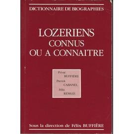 Lozériens connus ou à connaitre : Dictionnaire de biographies | Buffière, Félix. Metteur en scène ou réalisateur