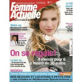 Femme Actuelle N� 1273 : Patrick Bruel Chez Lui : Les Secrets De Sa Vie De P�re Et D'acteur