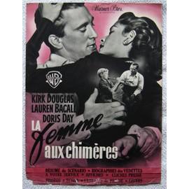 Femme Aux Chim�res (La) / Manuel D'exploitation Original 23x31cm / Michael Curtiz, 1950, Lauren Bacall, Kirk Douglas, Doris Day, Hoagy Carmichael, Juano Hernadez