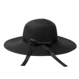 femme chapeau large bord panama paille et plage d 39 t bonnet soleil. Black Bedroom Furniture Sets. Home Design Ideas