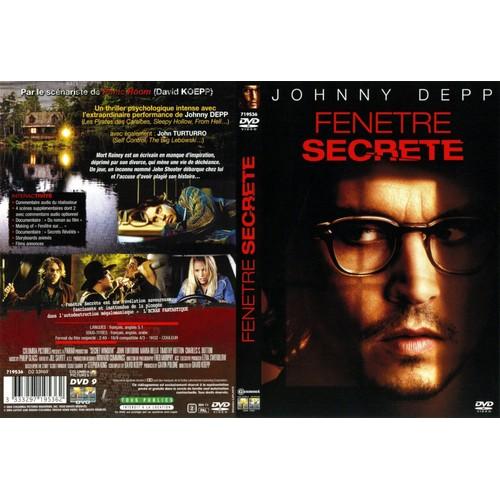 Fen tre secr te de david koepp en dvd neuf et d 39 occasion for Fenetre secrete