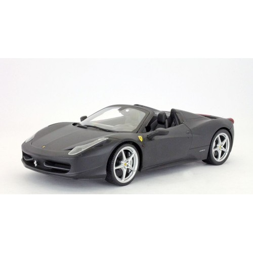 ferrari 458 spider black 2011 hotwheels 1 18 noire italia 1 18 mattel. Black Bedroom Furniture Sets. Home Design Ideas