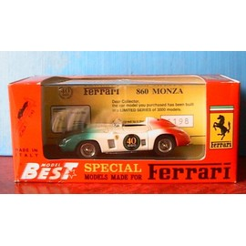 Ferrari 860 Monza 40x Anniversario Best Models Pr09 1/43 Made In Italy Racing
