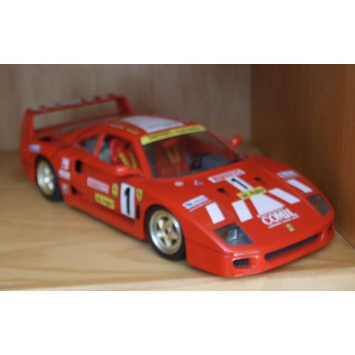 ferrari f40 1987 burago bburago neuf et d 39 occasion. Black Bedroom Furniture Sets. Home Design Ideas