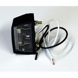 Feu �claireur De Plaque, Incl. Ampoule Et C�ble, 38 X 68 X 33 Mm