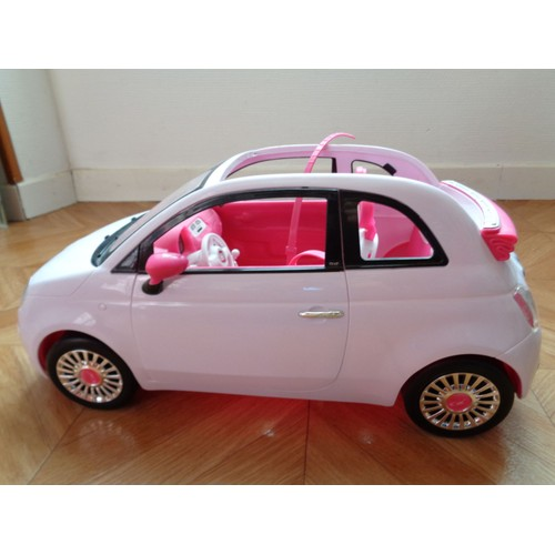 fiat 500 barbie achat vente de jouet priceminister rakuten. Black Bedroom Furniture Sets. Home Design Ideas