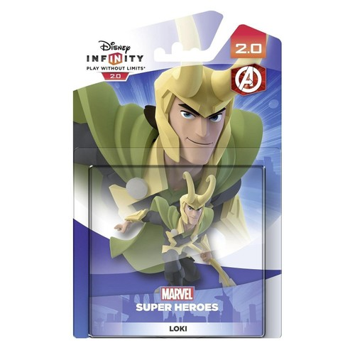 0 Disney Infinity HeroesLoki Figurine 2 Marvel Super CoxBdreW
