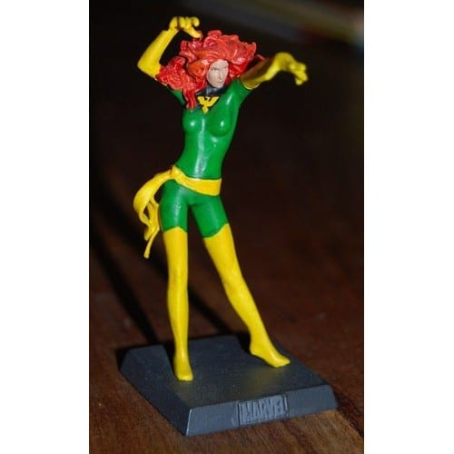 figurine en plomb marvel 11 num rot e jean grey. Black Bedroom Furniture Sets. Home Design Ideas