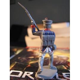 Figurine Infanterie Waterloo 50 Mm Plastique Début Peinture