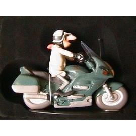 figurine joe bar team b cebege bike honda st 1100 paneuropean en resine. Black Bedroom Furniture Sets. Home Design Ideas