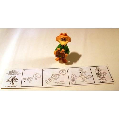 Figurine Kinder 1995 Yogi Bear Visite Le Parc N 4
