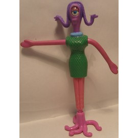 Figurine Monstres Et Compagnie Germaine Happy Meal Mcdo 2002