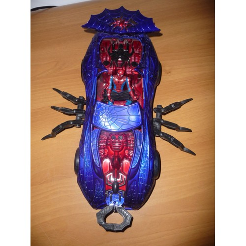 Figurine spiderman et sa voiture araign e neuf et d 39 occasion - Spiderman voiture ...