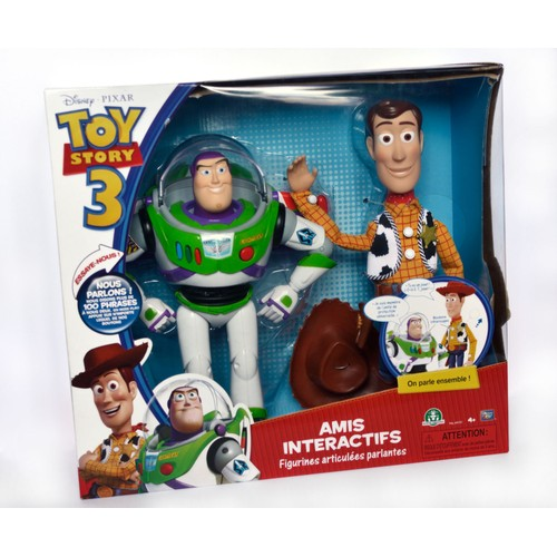 figurine woody buzz l 39 eclair 30cm toy story 3 vf achat. Black Bedroom Furniture Sets. Home Design Ideas