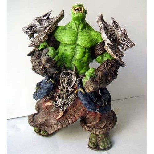 figurine wow world of warcraft blizzard orque orc barbare. Black Bedroom Furniture Sets. Home Design Ideas