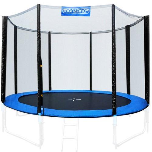 filet de s curit pour trampoline r seau dense entr e. Black Bedroom Furniture Sets. Home Design Ideas