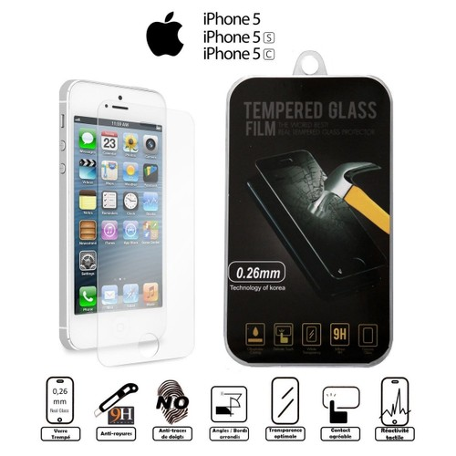film vitre de protection cran iphone 5 5c 5s. Black Bedroom Furniture Sets. Home Design Ideas