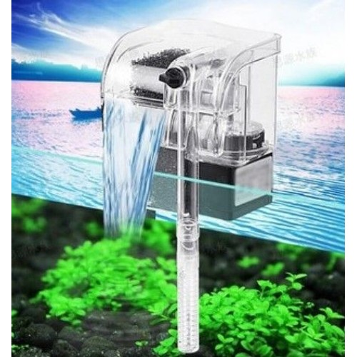 filtre chute d 39 eau cascade pompe filtre pour nano aquarium. Black Bedroom Furniture Sets. Home Design Ideas