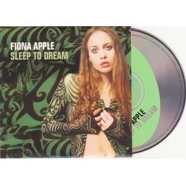 Fiona Apple Cd Single Sleep To Dream + 3 Card Ps 664428 2