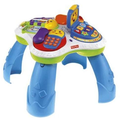 Table rires et eveil bilingue achat vente de jouet rakuten - Fisher price table d activite ...