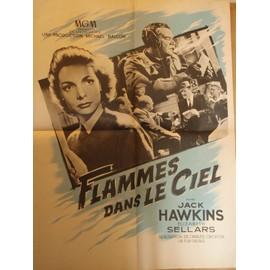 Flammes Dans Le Ciel/ The Man In The Sky - 1956 - Affiche Originale Pliee 60 X 80 - Aviation