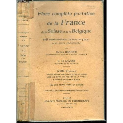 Flore Complete Portative De La France De La Suisse Et De border=