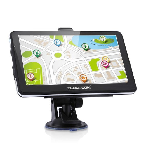 floureon 7 cran tactile 8go camion gps navigation sat nav. Black Bedroom Furniture Sets. Home Design Ideas