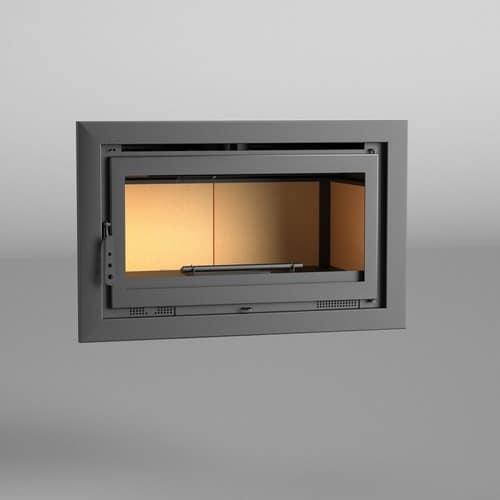 fm insert de chemin e it 100 14 5kw chaleur ventil e pas cher. Black Bedroom Furniture Sets. Home Design Ideas