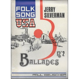 Petite annonce Folk Song Usa - Ballades N° 2 - jerry silverman - 86000 POITIERS