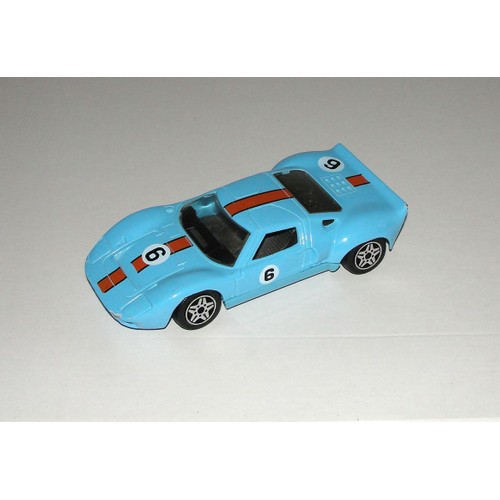 ford gt 40 majorette voiture ford gt bleu n 6 echel. Black Bedroom Furniture Sets. Home Design Ideas