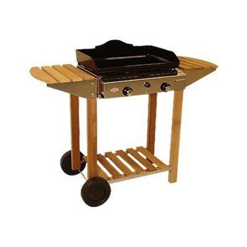 forge adour barbecue chariot pour plancha. Black Bedroom Furniture Sets. Home Design Ideas