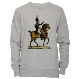 9892ecc844b francais-napoleon-unisexe-homme-femme-sweat-shirt-jersey-pull-over-gris- toutes-les-tailles-men-39-s-women-39-s-jumper-sweatshirt-pullover-grey-all-sizes-  ...