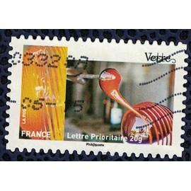 France 2015 Oblit�r� Used Stamp M�tiers De L'artisanat Verre