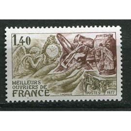 France Ann�e 1977 N� 1952 Neuf** Meilleurs Ouvriers De France