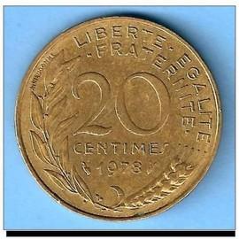 France...Pi�ce De 20 Centimes.1978.Marianne Lagriffoul