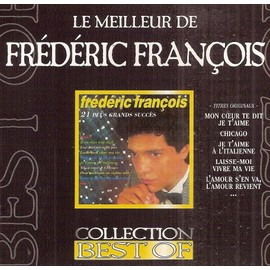 Fr d ric fran ois cd album le meilleur de fr d ric fran ois collection best of cd rares - Frais de port mon album photo ...
