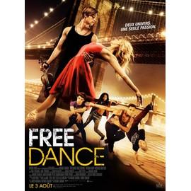 free dance v ritable affiche de cin ma pli e format 120x160 cm de michael damian avec. Black Bedroom Furniture Sets. Home Design Ideas