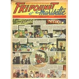 Fripounet Et Marisette N� 29 Du 15/07/1956 - La 3eme Soucoupe